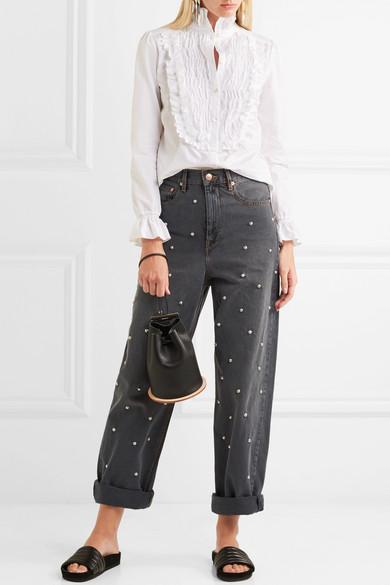 Jeans con applicazioni