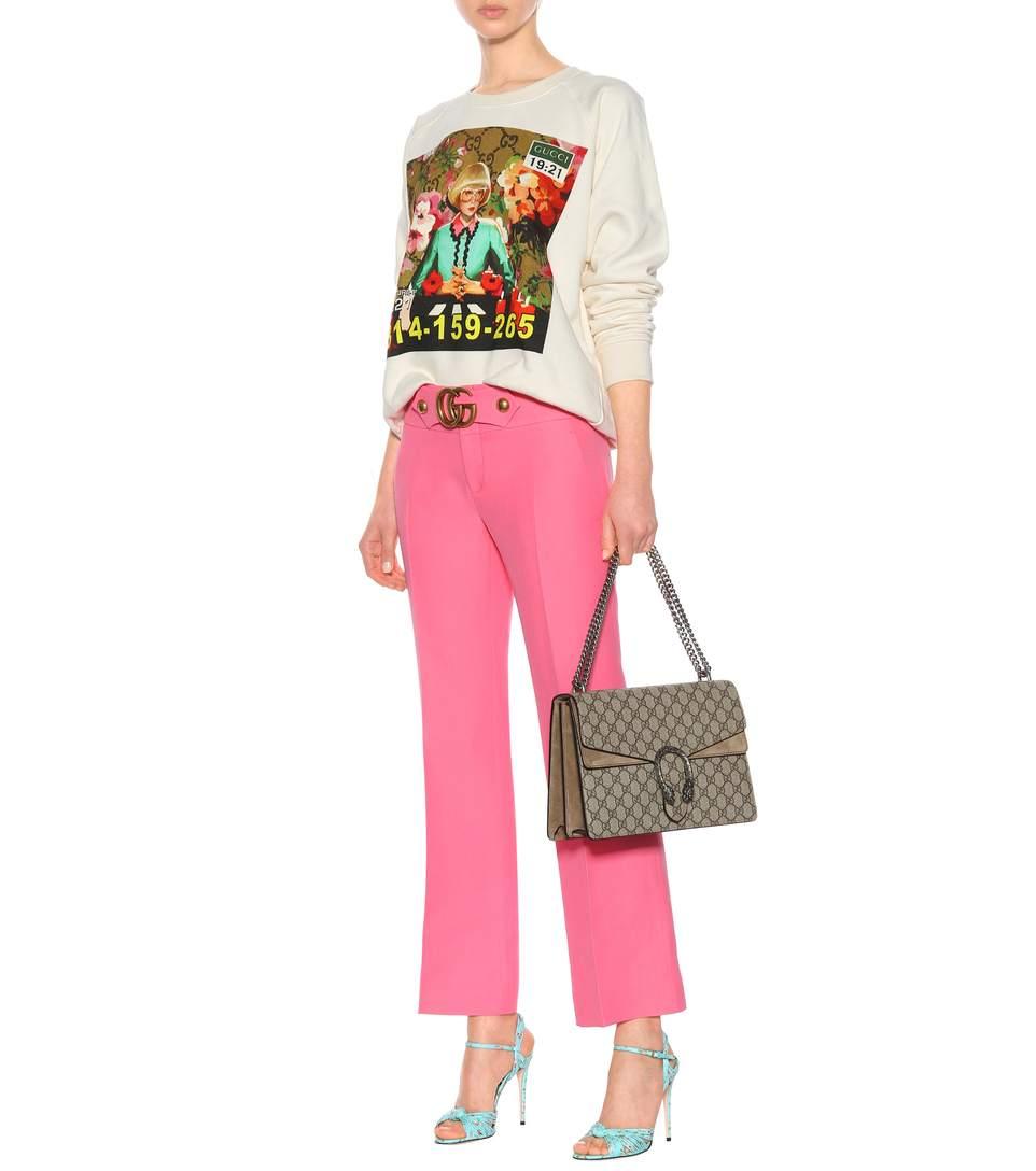 gucci pantaloni rosa